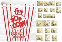 Popcorn Spritesheet